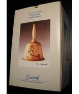 Goebel Hummel Annual Bell 1985 Eighth Edition Bas Relief Original Box an... - $10.99
