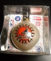Topperscot Christmas Ornament Cleveland Browns NFL Collectors Series Boxed - $7.99