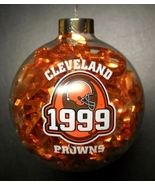 Topperscot Christmas Ornament Cleveland Browns 1999 Orange Ribbon in Cle... - $7.99