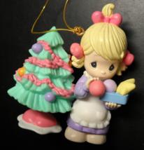 Enesco Christmas Ornament 1999 Precious Moments Deorating Tree Sam Butch... - $7.99