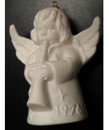 Goebel 1976 Annual Christmas Tree Ornament West Germany Angel with Flute... - $12.99