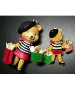 Carlton Cards Heirloom Christmas Ornament 2003 Libby's Adventures Paris ... - $12.99