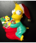 Kurt S Adler The Simpsons Christmas Ornament 2004 Bart Santa Sack Origin... - $6.99