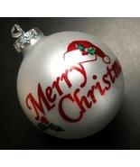 Bronners CHRISTmas Wonderland Christmas Ornament Silver Red Green Glitte... - $8.99