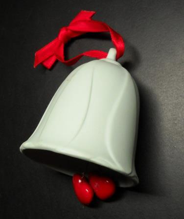 Primary image for Hallmark Keepsake Christmas Ornament 1985 First Christmas Together Ceramic Bell