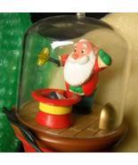 Hallmark Keepsake Christmas Ornament 1988 On With The Show Santa and Sparky - $15.99