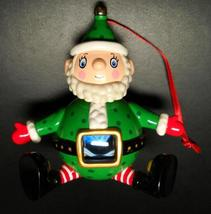 Hallmark Keepsake Christmas Ornament 2002 Naughty Or Nice? Elf Box Shake... - $6.99