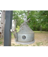 Handcrafted Birdhouse Old Funnel garden unique - $45.00