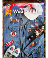 PATRIOTIC PATCHES PAINTED WEARABLES #2219 FABRI... - $3.00
