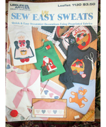 SEW EASY SWEATS #1130 FABRIC CRAFT - $3.00