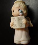 Precious Moment Miniature Christmas Ornament Let Heaven and Nature Sing ... - $13.99