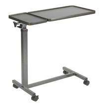 Drive Medical Multi-Purpose Tilt-Top Split Overbed Table - $104.13