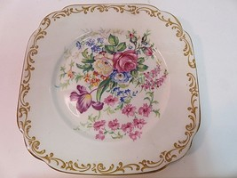 "RARE Royal Albert Nosegay square plate 6"" Vintage Perfect Condition - $15.61"