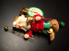 Hallmark Keepsake Christmas Ornament 1993 One Elf Marching Band Movement... - $9.99