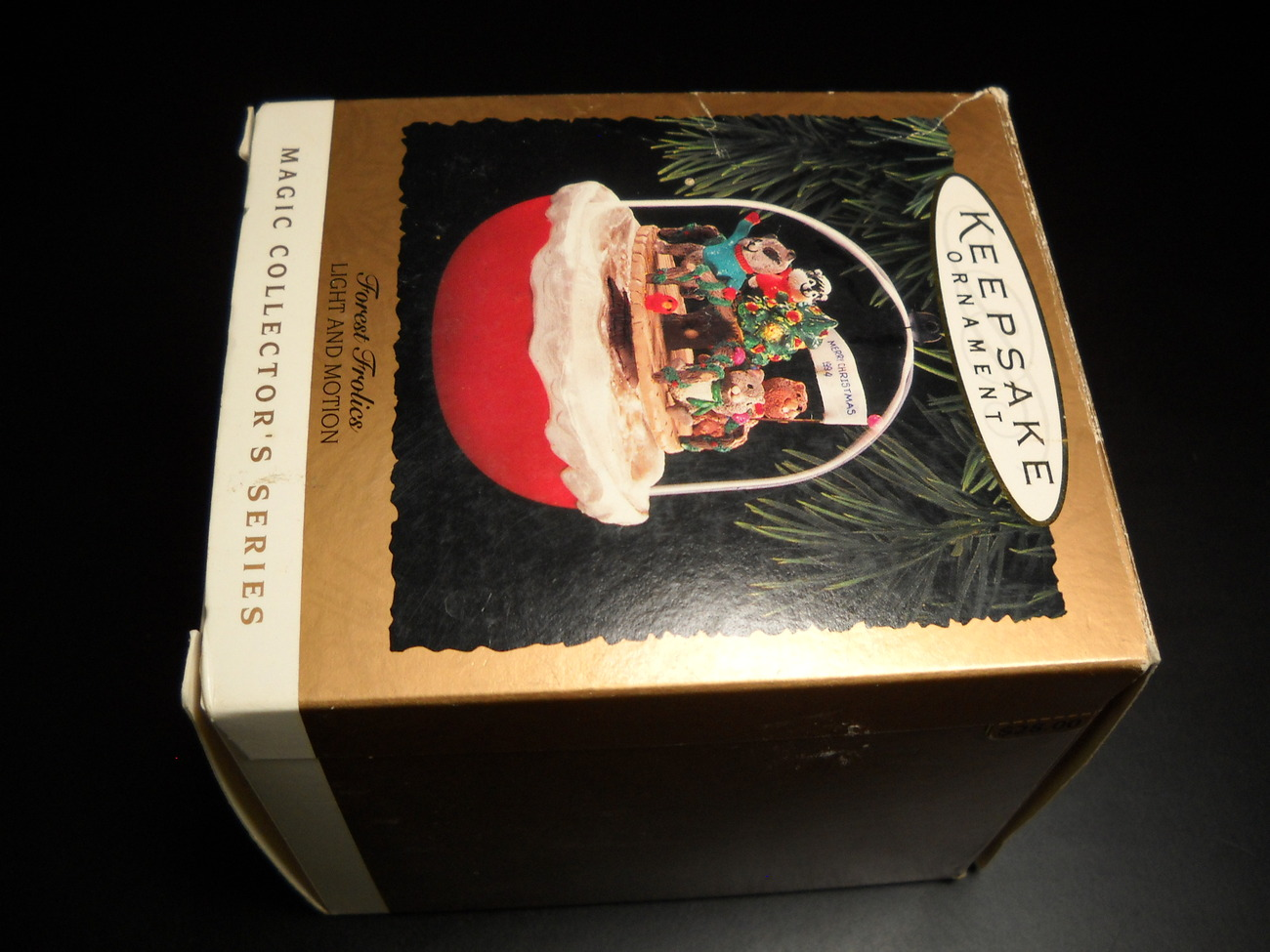 Primary image for Hallmark Keepsake Christmas Ornament 1994 Forest Frolics Light and Motion Boxed