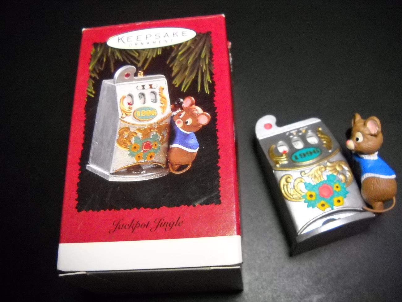 Christmas ornament hallmark keepsake jackpot jingle 1996 01