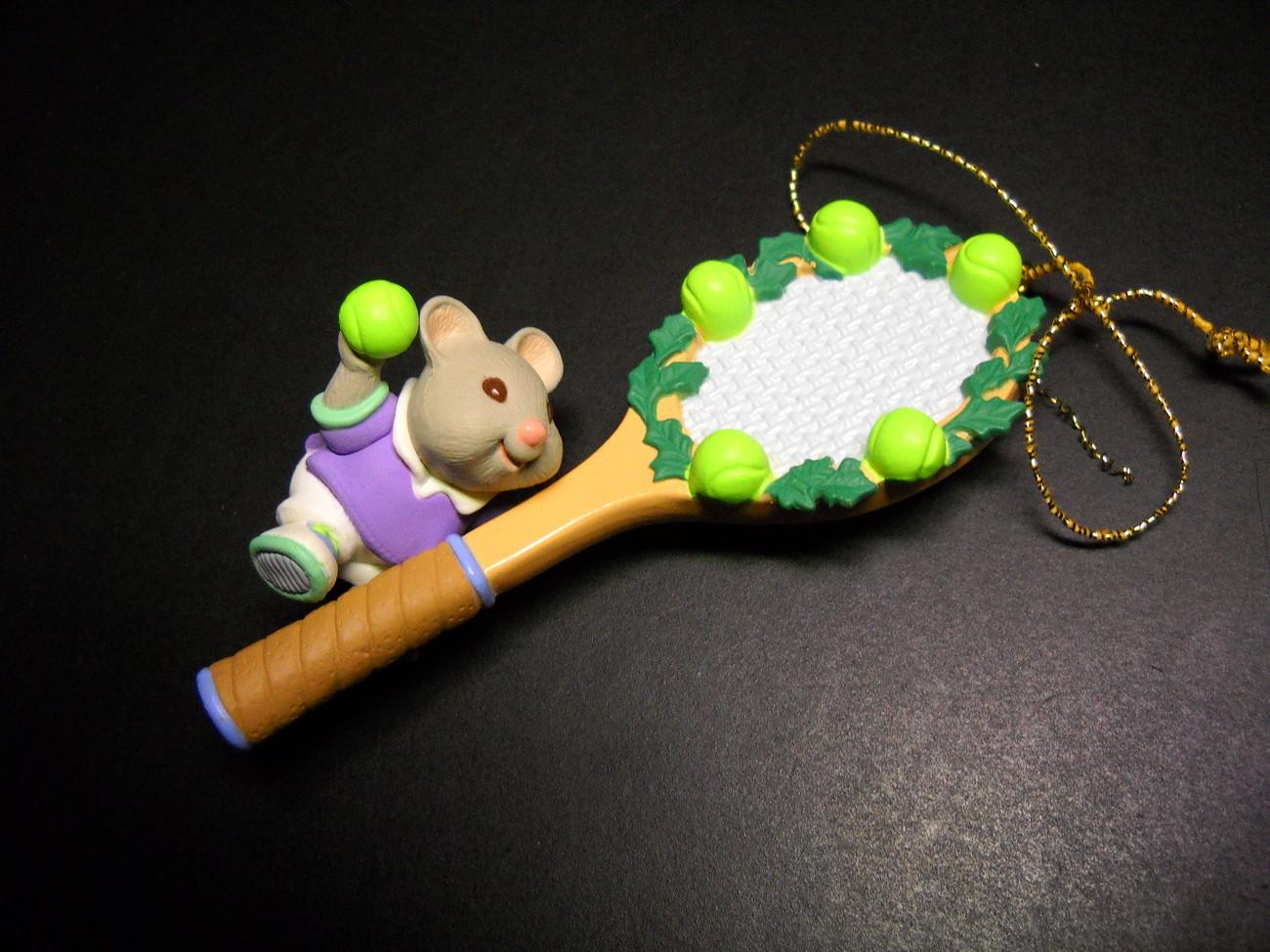 Christmas ornament hallmark keepsake tennis anyone 1995 04