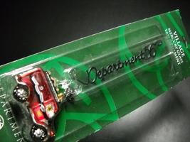 Department 56 Village Mercury Glass Van Christmas Ornament Unused Sealed... - $7.99