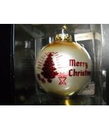 Bronners Christmas Wonderland Glass Bulb Ornament Austrian Merry Christm... - $8.99
