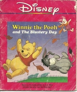 Winnie The Pooh And The Blustery Day Walt Disney Softcover Book - $1.99