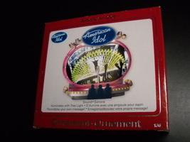Carlton Cards Heirloom Ornament 2008 American Idol Box Ryan Seacrest Recordible - $11.99
