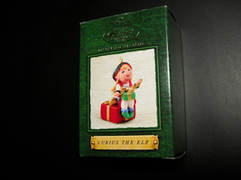 Hallmark Keepsake Ornament Collectors Club 2000 Curius The Elf Box Tammy... - $5.99