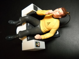 Hallmark Keepsake Ornament Star Trek 1995 Captain James T Kirk Command C... - $8.99