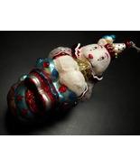 Scottish Christmas Ornament North Pole Spectacular Circus Bear on Ball B... - $8.99