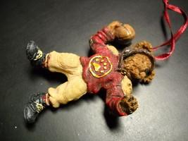 Boyds Bears Christmas Tree Ornament T.D. Bearsley Football Theme Origina... - $10.99