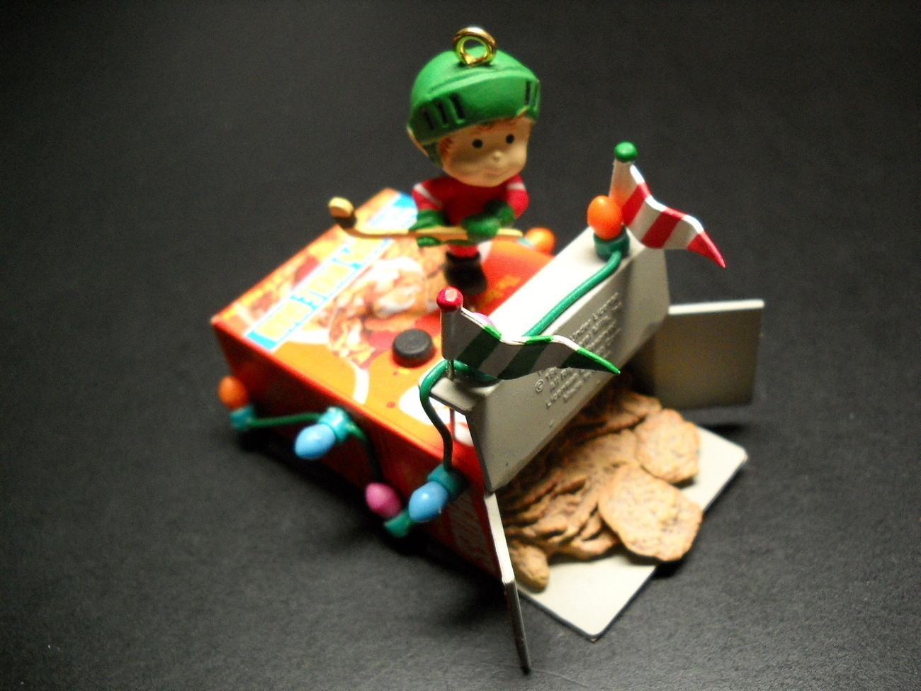 Primary image for Enesco Christmas Ornament Wheaties 1991 General Mills Christmas Is My Goal Boxed