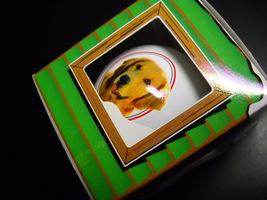 Friends & Neighbors Golden Retriever Glass Bulb Christmas Ornament Origi... - $7.99