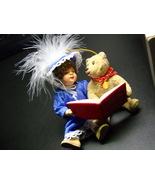 Hallmark Keepsake Ornament 1995 Beverly And Teddy Christmas Feathered Ha... - $11.99