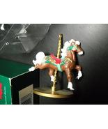 Hallmark Keepsake Ornament 1989 Star 3rd in Four Carousel Horses Series ... - $11.99