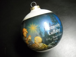 Hummel Glass Ornament 1988 Heavenly Lullaby 6th Annual Edition Reproduct... - $11.99
