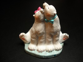 American Greetings Ornament 2003 Our Christmas Together Polar Bears in L... - $10.99
