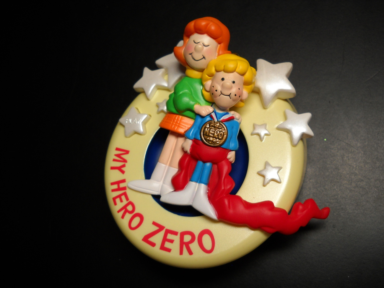 Primary image for Carlton Cards Heirloom Ornament 2006 My Hero Zero School House Rock Musical Box