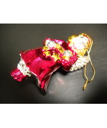 American Greetings Hanging Christmas Ornament Heavenly Angel Reds Golds ... - $11.99
