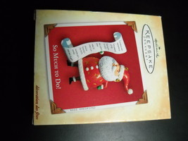 Hallmark Keepsake Ornament 2004 So Much To Do Nello Williams Handcrafted... - $4.99