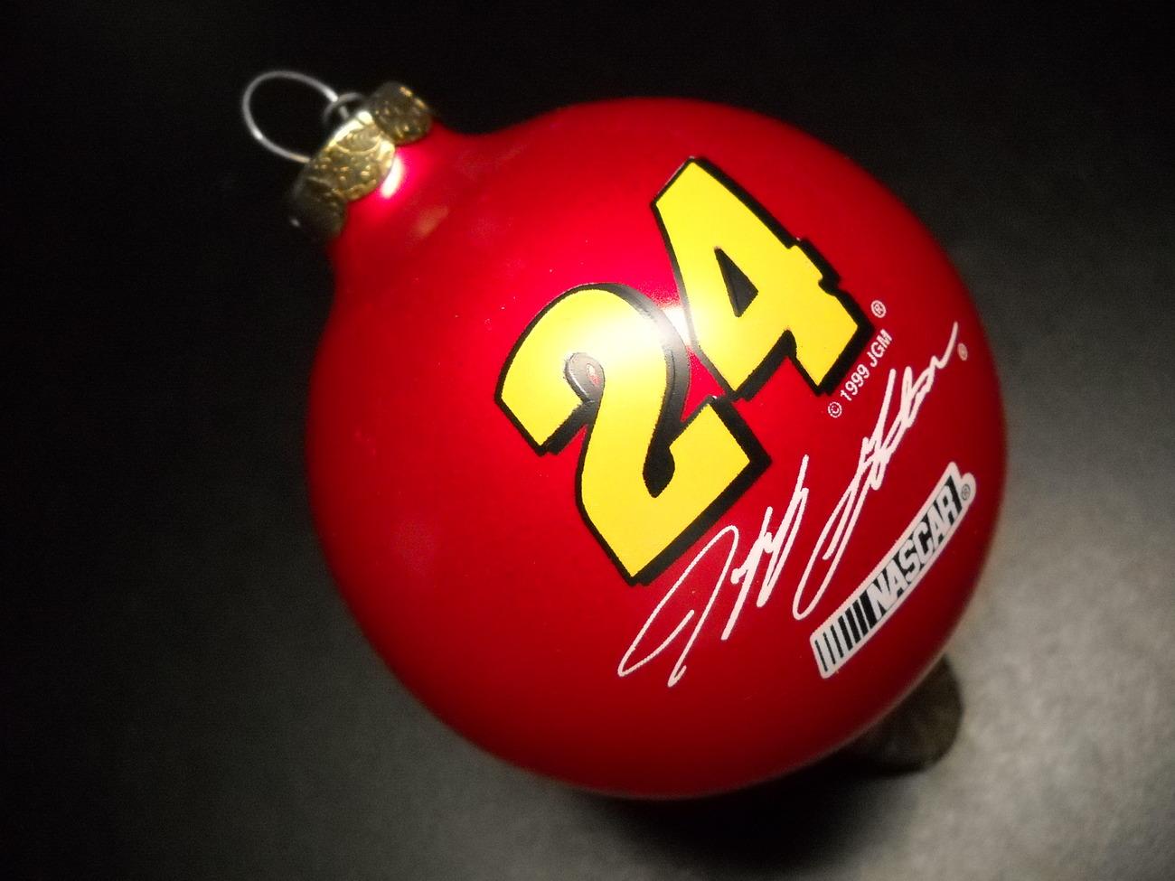 Topperscot NASCAR Collectibles Ornament 1999 Jeff Gordon Nascar Number 24 Boxed - $8.99