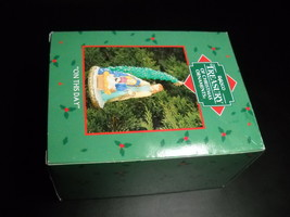 Enesco Treasury of Christmas Ornament 2002 On This Day Manger Scene Holy... - $11.99