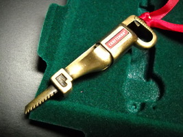 Sears Craftsman 2004 Christmas Miniatures Reciprocal Saw Antiqued Bronze... - $12.99