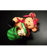 Carlton Cards Heirloom Ornament 2001 Suzi's Surprise Puppy Carly Boxed N... - $8.99