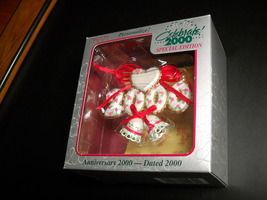 Carlton Cards Heirloom Ornament 2000 Edition Personalize Anniversary Stickers - $11.99