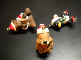 WWA Designers Collection Christmas Ornaments 1980 Christmas Critters Bunny Boxed - $11.99