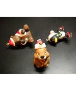WWA Designers Collection Christmas Ornaments 1980 Christmas Critters Bun... - $11.99