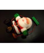 WWA Designers Collection Christmas Ornaments 1981 Swinging Santa Boxed H... - $11.99
