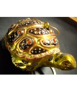 May Company Stores Christmas Ornament Jeweled Collection Turtle Ornament... - $11.99