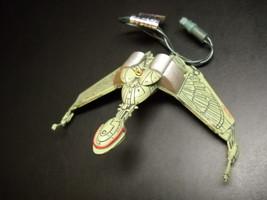 Hallmark Keepsake Ornament Star Trek 1994 Klingon Bird Of Prey STNG Ligh... - $19.99