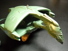 Hallmark Keepsake Ornament Star Trek 1995 Romulan Warbird STNG Light Boxed - $10.99