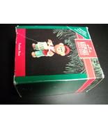 Hallmark Keepsake Ornament 1991 Tender Touches Fanfare Bear Hand Painted... - $9.99